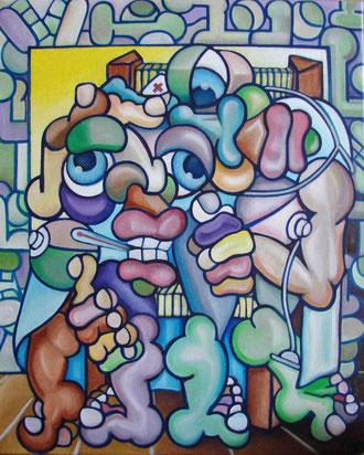 acrylique sur toiles 49x61