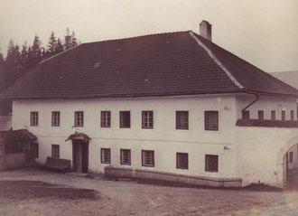 Kauf der Trenaumühle 1910 - Familie Huber