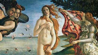 Vénus sortant des eaux Alessandro BOTICELLI