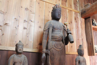 Eleven faced Kannon in Daihou-ji Temple