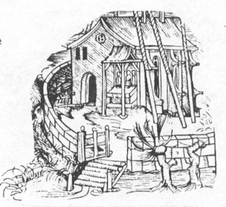 A medieval house