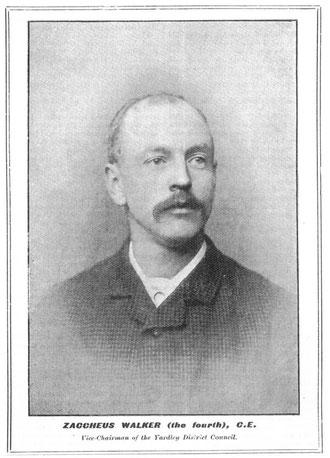 Zaccheus Walker IV from around 1895