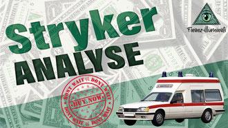 Stryker Analyse - Medizintechnik Aktie ETF