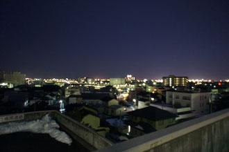 昨日の直江津の夜景(ヨーカ堂の屋上から)