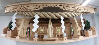 鳳凰上等彫刻欄間の幕板