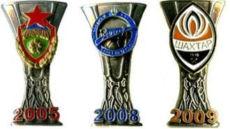 обладатели  кубка УЕФА