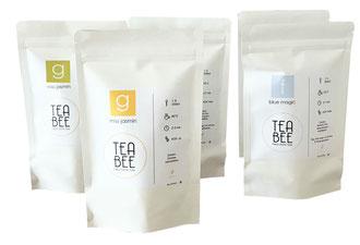 Teabee Design Verpackungen, Zip-Beutel