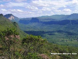 Vista panorâmica do Vale do Capão.