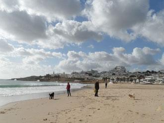 Praia da Luz im Dezember