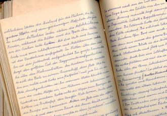 Text aus Familienbuch