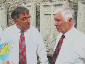 Paul Gimmel und Präsident Kurt Umbricht