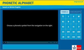 Klett: Phonetisches Alphabet