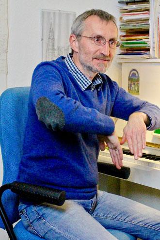 Martin Steffan am Klavier