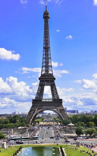 Wer kennt ihn nicht? Mehr vom Eiffelturm? Einfach auf das Bild klicken