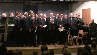23. 10. 2010, Pfarrsaal, Sängerrunde St. Marienkirchen, Leitg. Johannes Zajonskowski