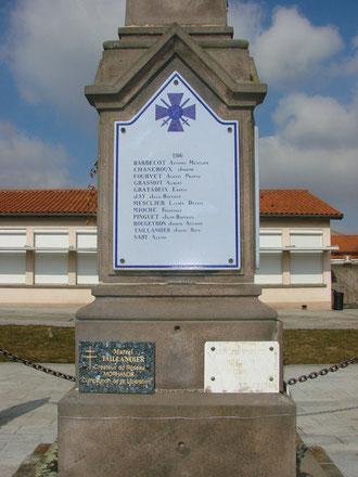 Saby Alexis mort en 1916