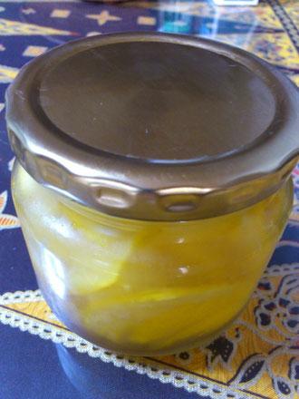 柚子のハチミツ漬け