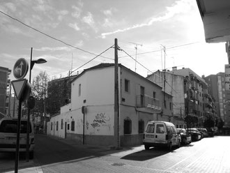 Calle San Pedro esquina Santo Domingo año 2011