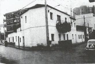 Calle San Pedro esquina Santo Domingo años 70
