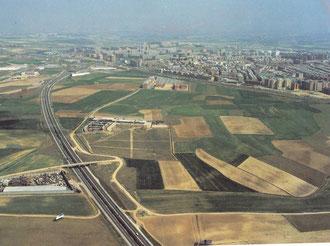Zona hospital de Alcorcón años 80