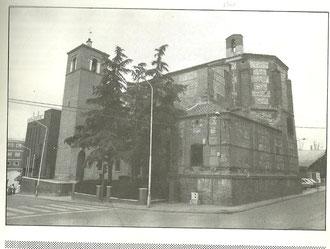 Iglesia de Santa Mª la Blanca 1983. Cortesía de Alberto García