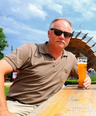 """Auch wenn Weizenbier im Urlaub mächtig auf die Hüften geht.....der Aufenthalt in Heringsdorf auf Usedom war so schön, da durfte ein bisschen """"Dolce Vita"""" schon sein."""