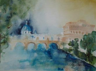 Brücke über den Tiber - Rom