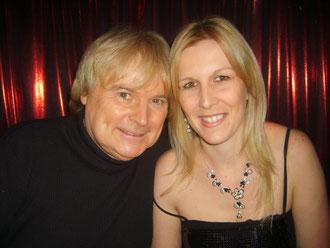 Avec Gilles Puiset (sosie de C.Jérôme) 2008