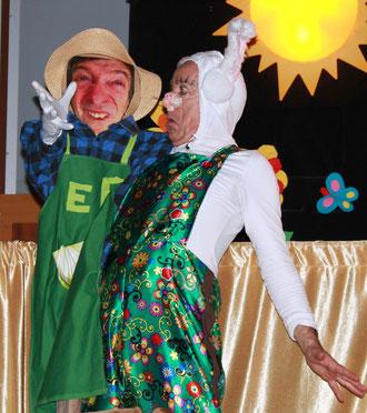 """Spectacle pour enfants """"quel cirque, ce jardin !"""" - LES GUIGNOLOS"""