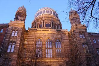 Altes Berlin - Synagoge
