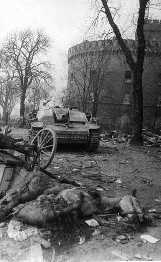 1945 г апр  казармы Кронпринц