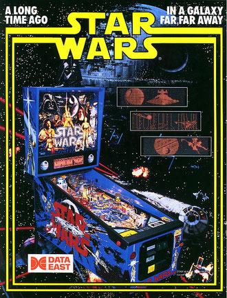 Star Wars Data East, pub d'époque