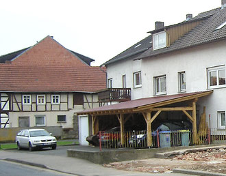 Teil des Hauses Großkurt 2011 (links)
