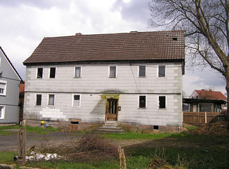 Was wird wohl aus dem Haus Gies werden? Abriss oder Erhaltung? Hoffentlich findet sich ein Mensch, der das Gebäude wieder restauriert!