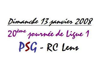 2008-01-13  PSG-Lens (20ème L1)