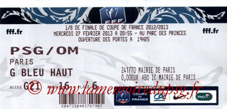 2013-02-27  PSG-Marseille (8ème Finale CF)