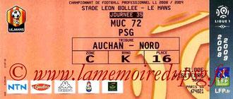 2009-05-13  Le Mans-PSG (35ème L1)