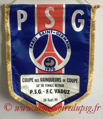 Fanion PSG-Galatasaray  1996-97