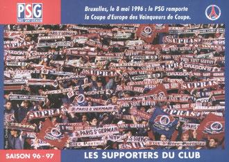 Les supporters du club  96-97