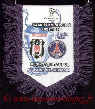 Fanion PSG-Besiktas JK  1997-98