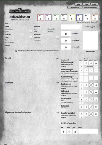 DSA 5 Heldenbogen selbstrechnend download