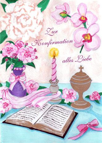 Zur Konfirmation alles Liebe