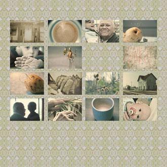 Ohne Makel II, fotografische Collage, 2011