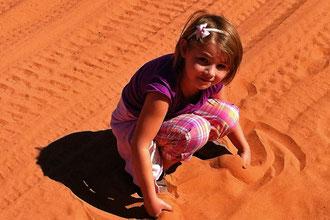 Sandspielen macht mehr Spaß!