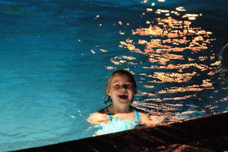 Abendliche Schwimmrunde