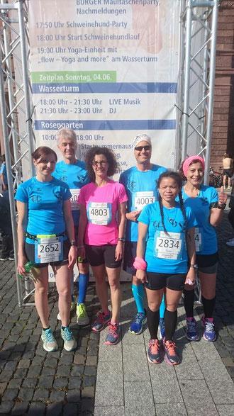 LC80 Goldstadtlaufteam@Mannheim