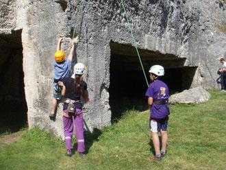 Les enfants à Marignac - 31 mars 2012