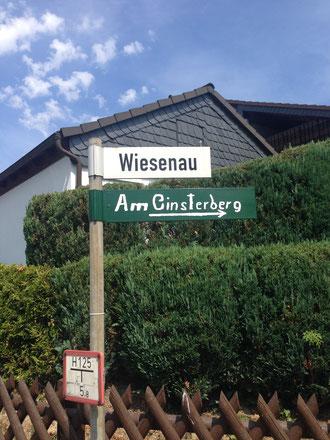 - Über die Wiesenau erreichen Sie uns -