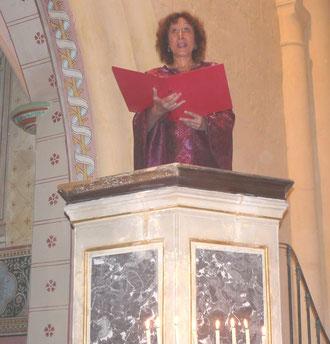 Catherine Ravenne - Mosnac septembre2010