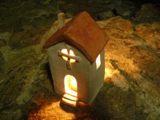 初冬の灯り